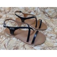 Sandales Tropéziennes Hanano noir