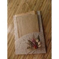 Nécessaire courrier fleurs séchées