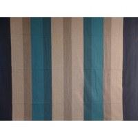 Tenture maxi Kérala bleue rayures larges