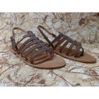 Sandales Tropéziennes Hook marron 07994