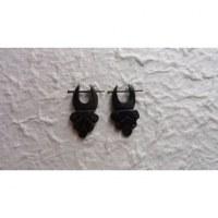 Boucles d'oreilles tribales scarabée