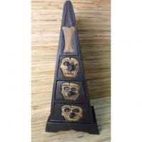 Boîte pyramide squelette