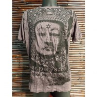 Tee shirt Bouddha Angkor marron