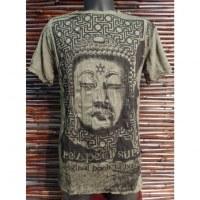 Tee shirt Bouddha Angkor kaki