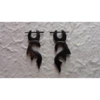 Boucles d'oreilles orignal