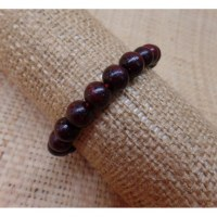 Bracelet mala bois de rose 22 perles