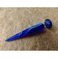 Faux écarteur conique bleu