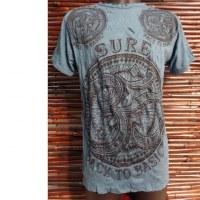 Tee shirt Om turquoise