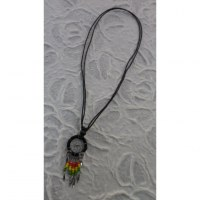 Collier attrape rêves iskwaaw rasta