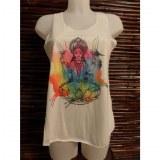 Débardeur déesse hindoue color