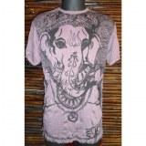Tee shirt Ganesh prune