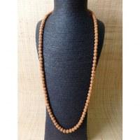 Mala Rudraksha suméru turquoise/corail