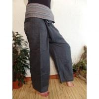 Pantalon thaï Pattaya gris