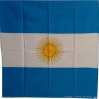 Bandana drapeau de l'Argentine