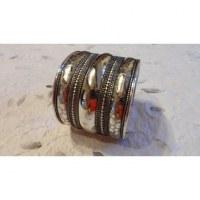 Bracelet manchette mini cercles