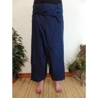 Pantalon Thaï Bang Saen marine