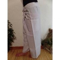 Pantalon Thaï Bang Saen blanc