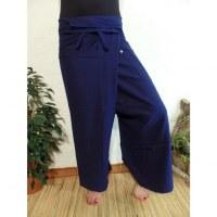 Pantalon Thaï Bang Saen bleu foncé