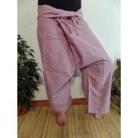 Pantalon Thaï Bang Saen rose pâle