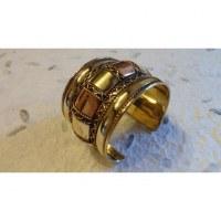 Bracelet manchette couronne