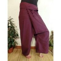 Pantalon Thaï Bang Saen grenat