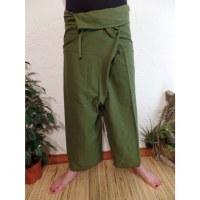 Pantalon Thaï Bang kaki