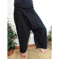 Pantalon Thaï Bang Saen noir