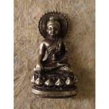 Miniature couleur argent Bouddha médecin