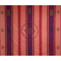Tenture Chitwan rouge/violet Bouddha eyes éléphant
