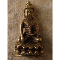 Miniature Bouddha médecin couleur bronze