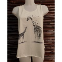 Débardeur les 2 girafes