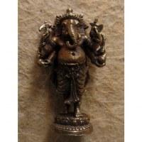 Miniature du dieu Ganesh debout gris