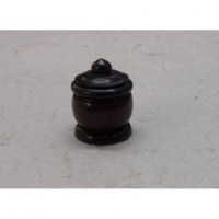 Mini-boîte en bois mini pot