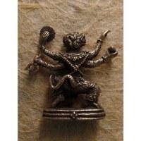 Miniature argentée Hanuman