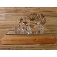 Statuette Ganesh en cristal