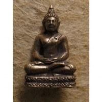 Miniature grise de Bouddha Dhyani-Mudra