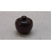 Mini-boîte en bois belle pomme