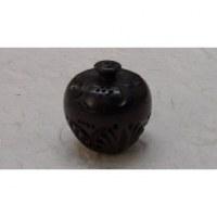 Mini-boîte en bois sculpté fleur de pommier 3