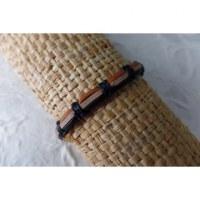 Bracelet sempit cuir coton 5