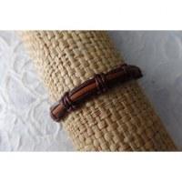 Bracelet sempit cuir coton 10