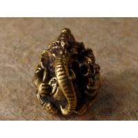 Miniature de Ganesh doré