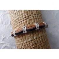 Bracelet sempit cuir coton 7