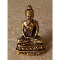 Miniature dorée Bouddha Amitabha
