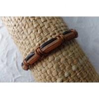 Bracelet sempit cuir coton 11