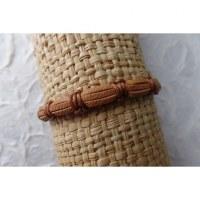 Bracelet sempit cuir coton 13