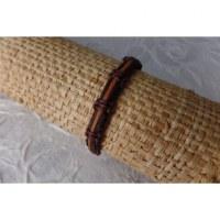 Bracelet sempit cuir coton 14
