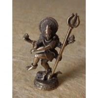 Miniature couleur argent Shiva le danseur