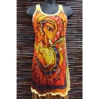 Long débardeur jaune Ganesh