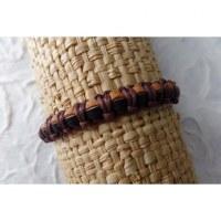 Bracelet cuir gelang 1