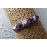 Bracelet mauve